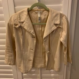 Women's Tan lightweight coat